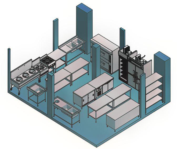 تجهیزات صنعتی اشپزخانه