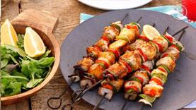 ماهی کباب مراکشی